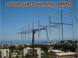 Cubical quad 8 elements 144MHz