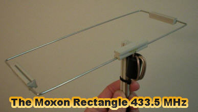 The Moxon Rectangle 433 5 MHz