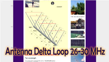 Antenna Delta Loop 26-30 MHz
