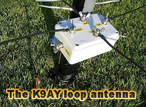 The K9AY loop antenna for 160 and 80m bands