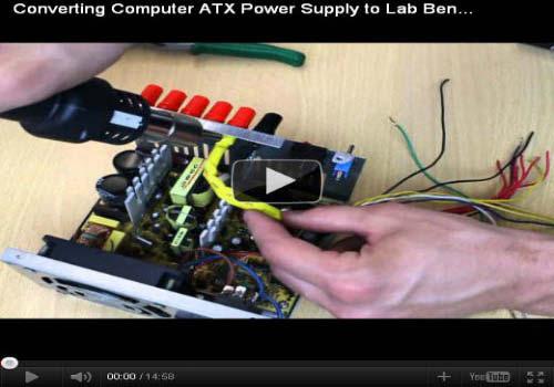 converting computer ATX power Supply