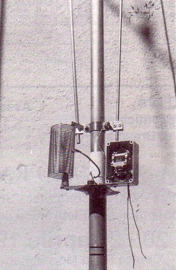 Verticale Multibanda per i 10-15-20-40-80 metri