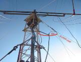 Antenna Vertical Sloper 40/80m