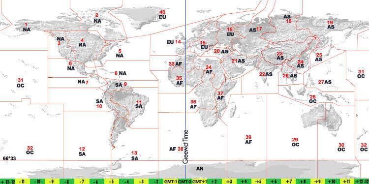 Cq zone world maps cq zone maps gumiabroncs Images